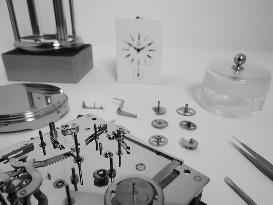 SERVICING A CARRIAGE CLOCK